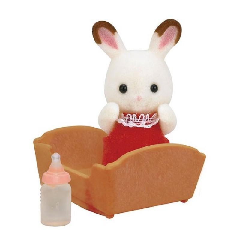 Đồ Chơi Chú Thỏ Con Và Chiếc Nôi Slyvanian Famalies - Chocolate Rabbit Baby - Nhiều màu giá sỉ, giá bán buôn