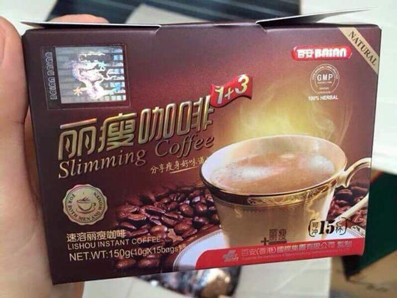 Bỏ sỉ cafe giảm cân Lisshouu