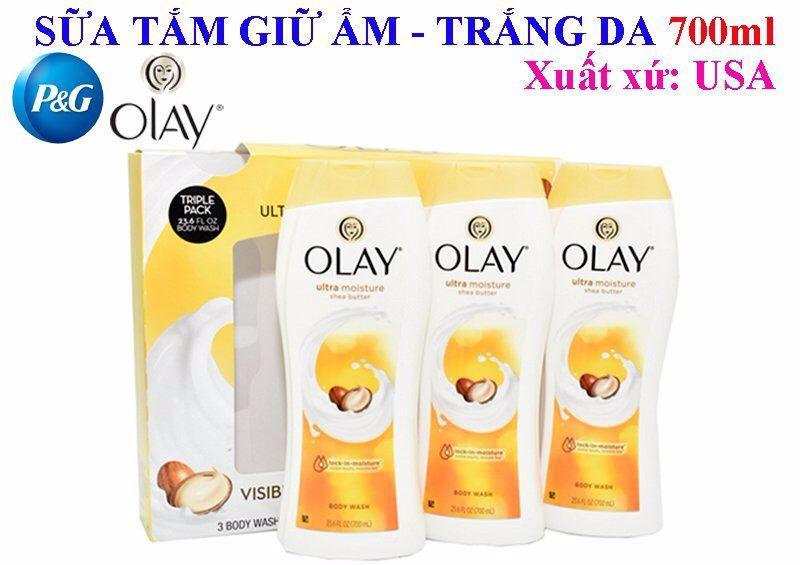 Sữa tắm OLAY – Olay Ultra Moisture Body Wash with Shea Butter 700ml Giữ Ẩm Dưỡng Trắng Da giá sỉ, giá bán buôn