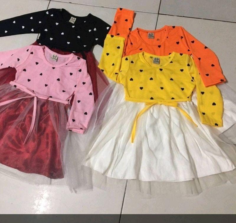 đầm váy em bé giá sỉ, giá bán buôn