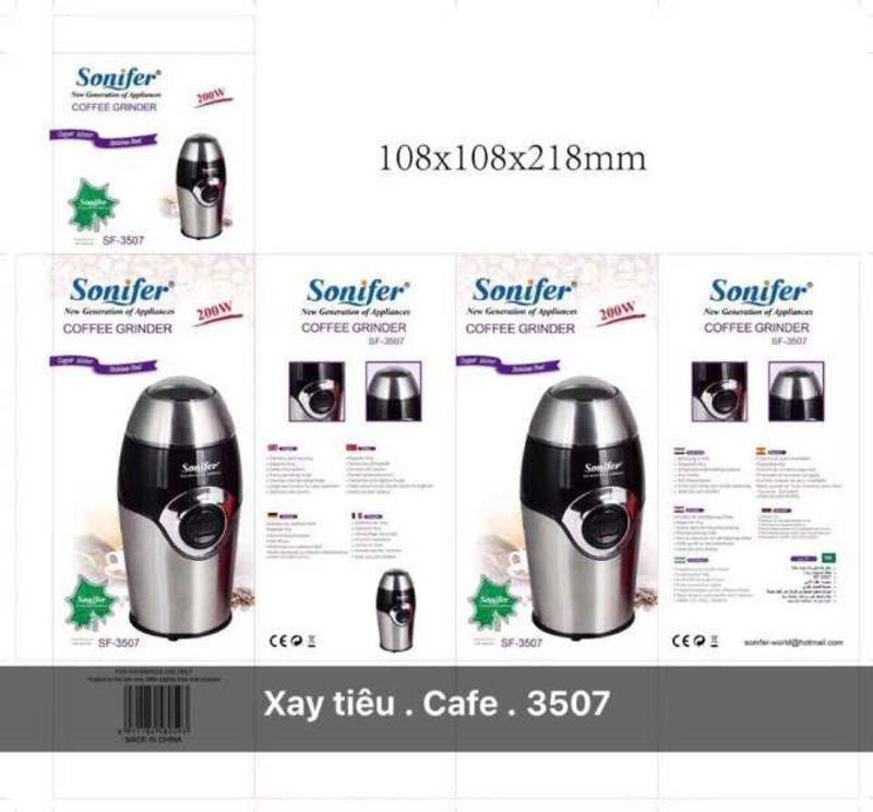 Máy xay tiêu cà phê sonifer FS3507 200W giá sỉ, giá bán buôn