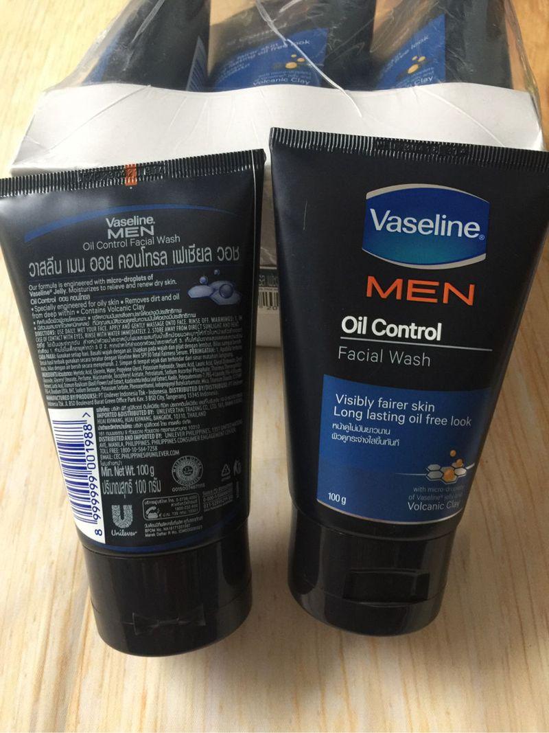 sữa rửa mặt nam Vaseline Men Thái Lan giá sỉ, giá bán buôn