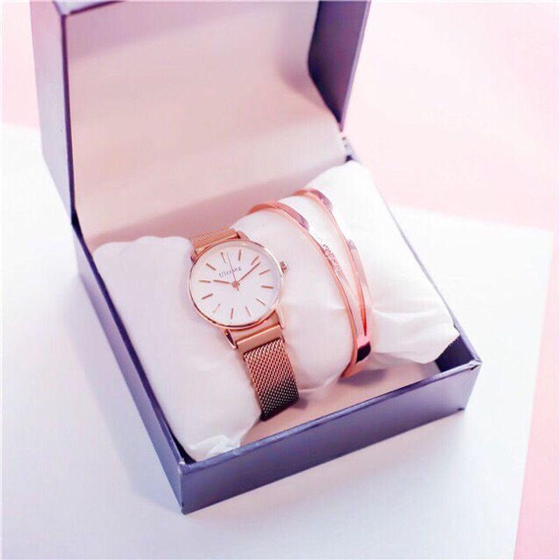 Đồng hồ nữ Ulzzang dây nam châm mẫu mới giá sỉ, giá bán buôn