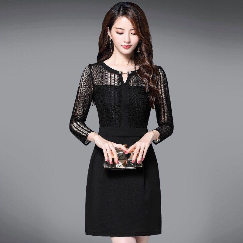 Đầm Dự Tiệc Body Ren Cổ V Trân Châu giá sỉ, giá bán buôn