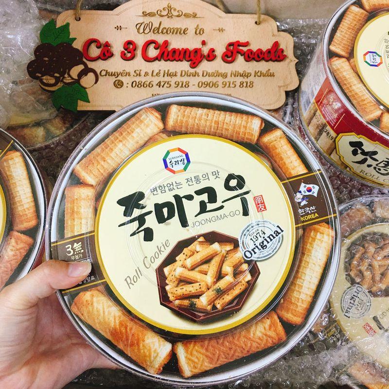 Bánh Quế Vị Rong Biển Hàn Quốc 365g giá sỉ, giá bán buôn