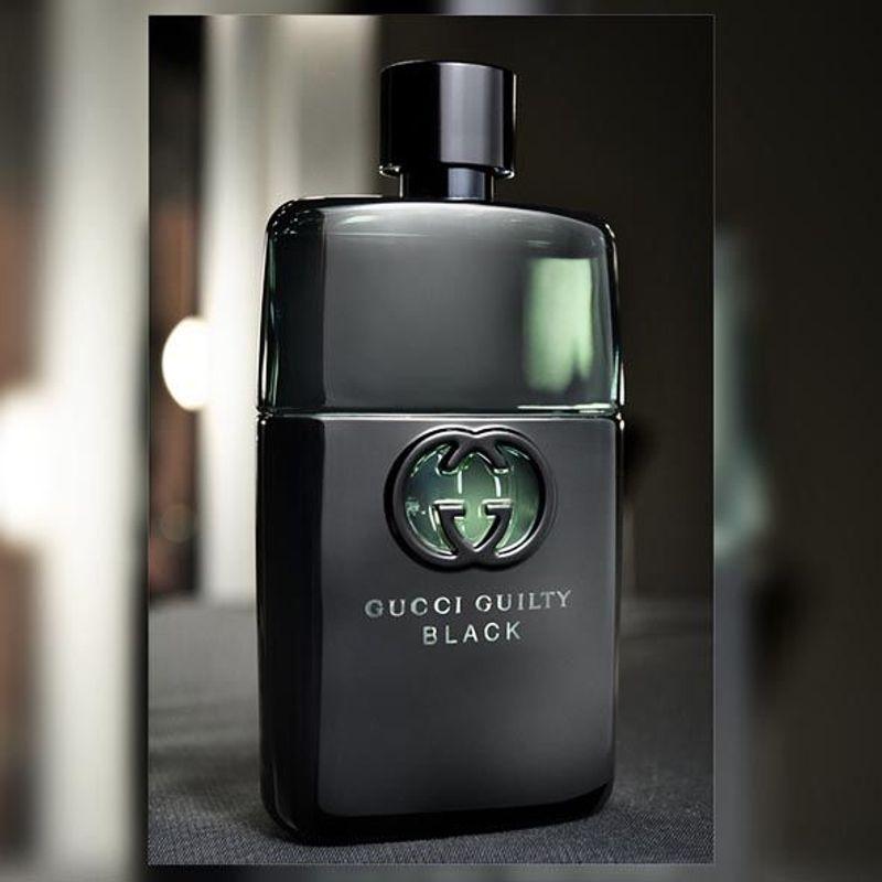 Kết quả hình ảnh cho Nước Hoa Gucci Guilty Black Pour Homme