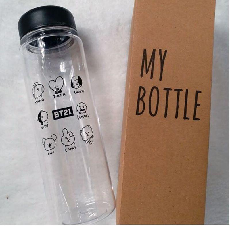 bình nước nhựa BTS BT21 giá sỉ, giá bán buôn