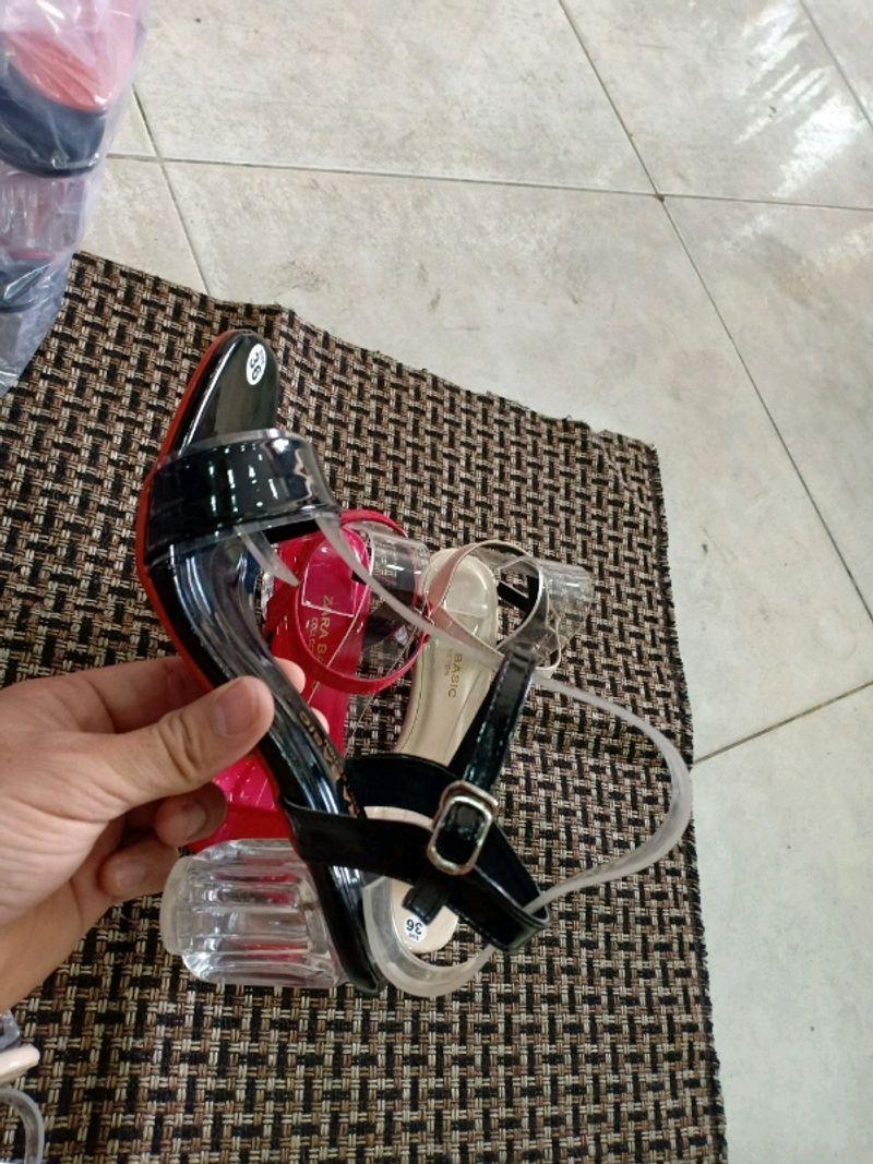 Sandal gót trong 5f giá sỉ, giá bán buôn