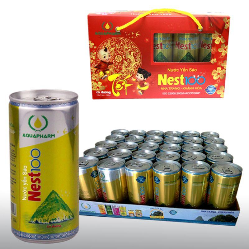 Yến Sào Nest100 Có Đường – Lon 190 ml giá sỉ, giá bán buôn