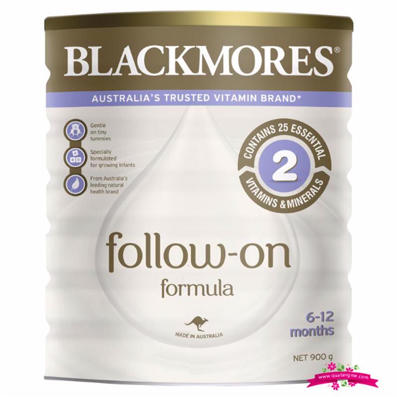 Blackmores Follow On Formula 900g - Sữa Blackmores số 2 cho trẻ từ 6-12 tháng tuổi giá sỉ, giá bán buôn
