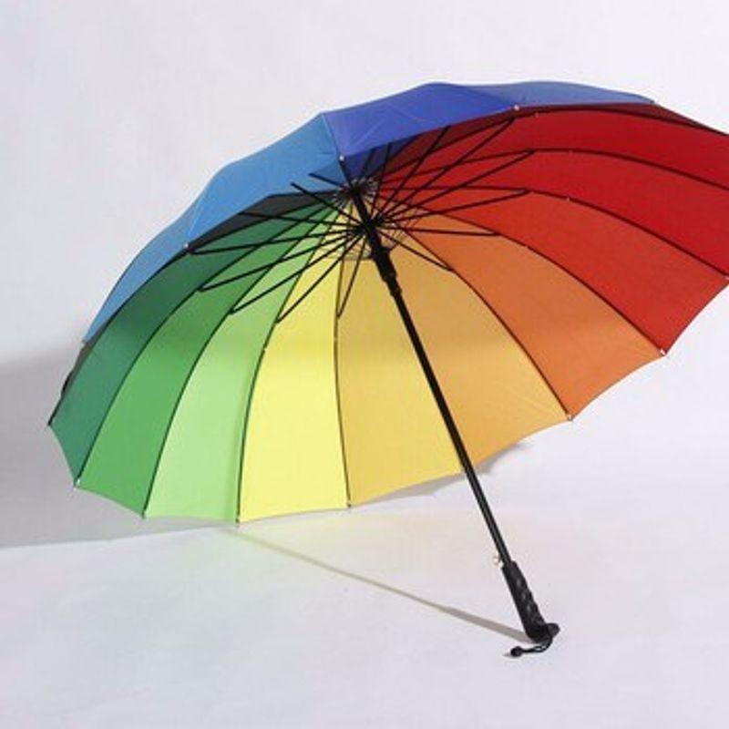 Kết quả hình ảnh cho ô dù bảy sắc cầu vồng cỡ lớn