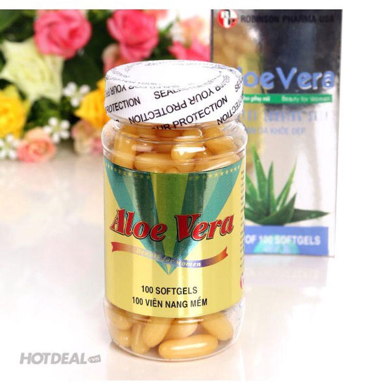 Viên uống đẹp da sữa ong chúa Aloe Vera giá sỉ, giá bán buôn