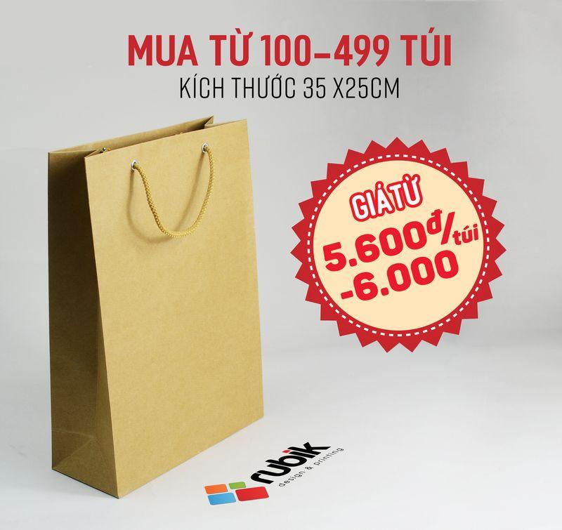 Túi giấy size 35 x 25 x10cm - túi giấy thời trang