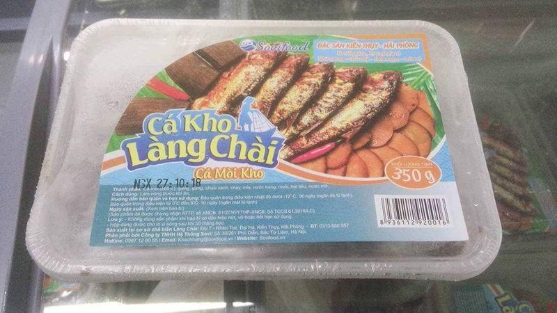Cá mòi kho hộp 350g giá sỉ, giá bán buôn