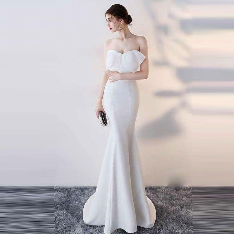 Đầm Dạ Hội Nơ Cúp Ngực Quí Phái giá sỉ, giá bán buôn