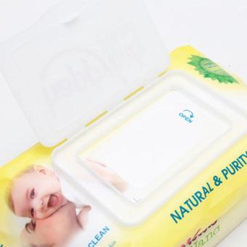 KHĂN ƯỚT BABY VÀNG TO 100 MIẾNG giá sỉ