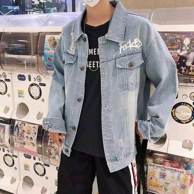Áo khoác jean nam phong cách giá sỉ, giá bán buôn