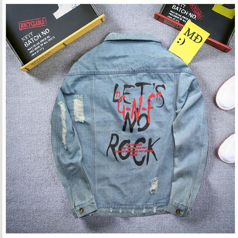 Áo Khoác Jeans Nam A356 giá sỉ, giá bán buôn