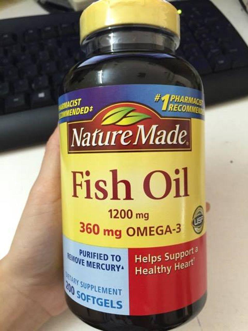 dầu cá fish oil nature made 250 viên của mỹ giá sỉ, giá bán buôn