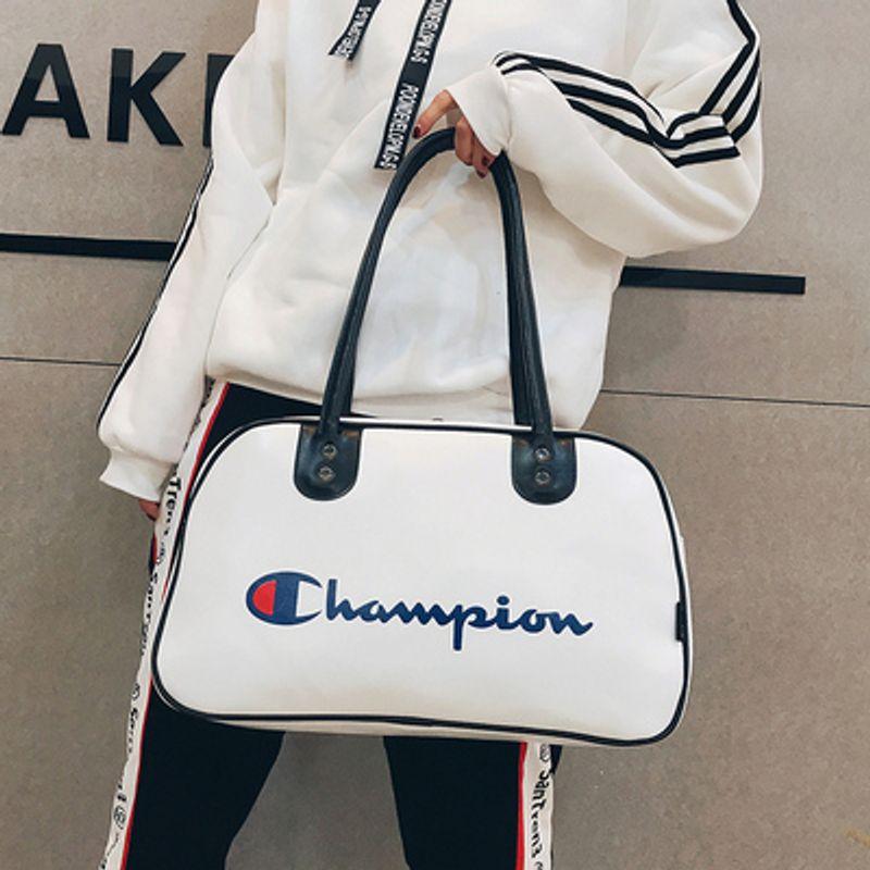 Túi xách du lịch thể thao Champion CP01 Phủ Da Trơn 2 Ngăn giá sỉ, giá bán buôn