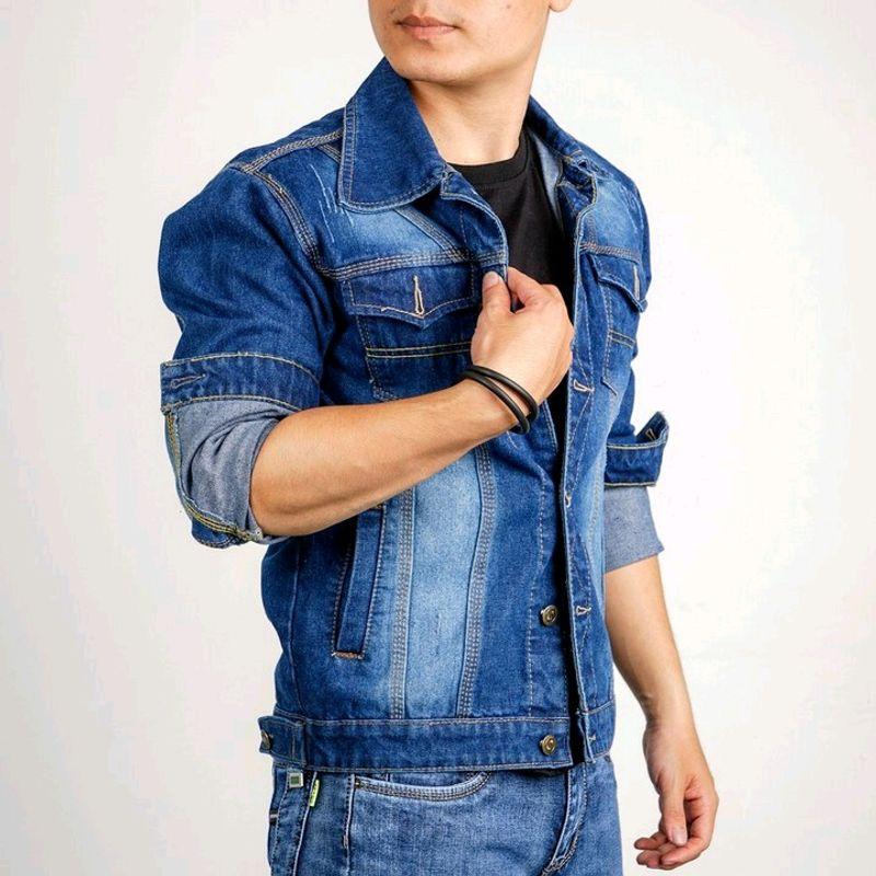 Áo khoác jean nam thời trang chuyên sỉ jean 2Kjean