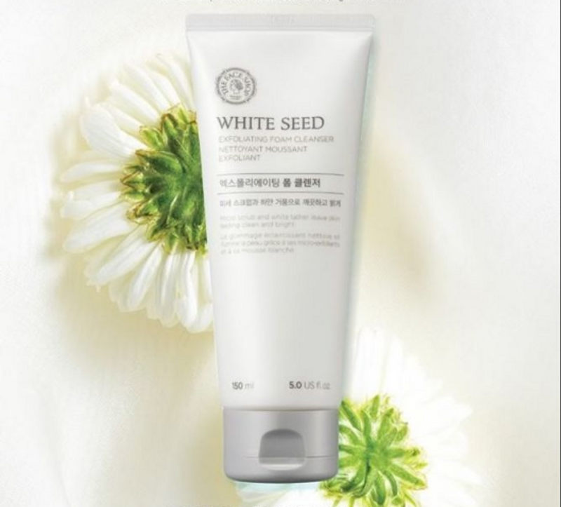 Sữa rửa mặt trắng da White SeedExfoliating Foam Cleanser The FaceShop 150ml giá sỉ, giá bán buôn