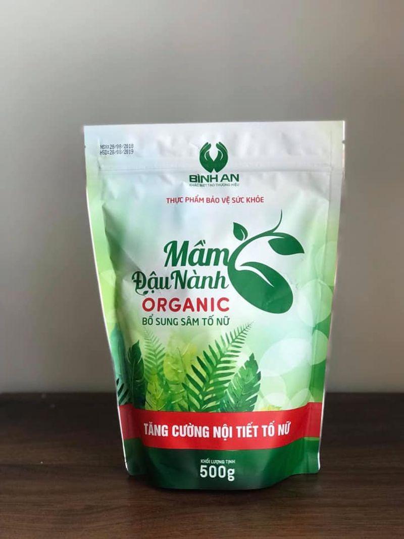 Mầm Đậu Nành Organic Bình An giá sỉ, giá bán buôn