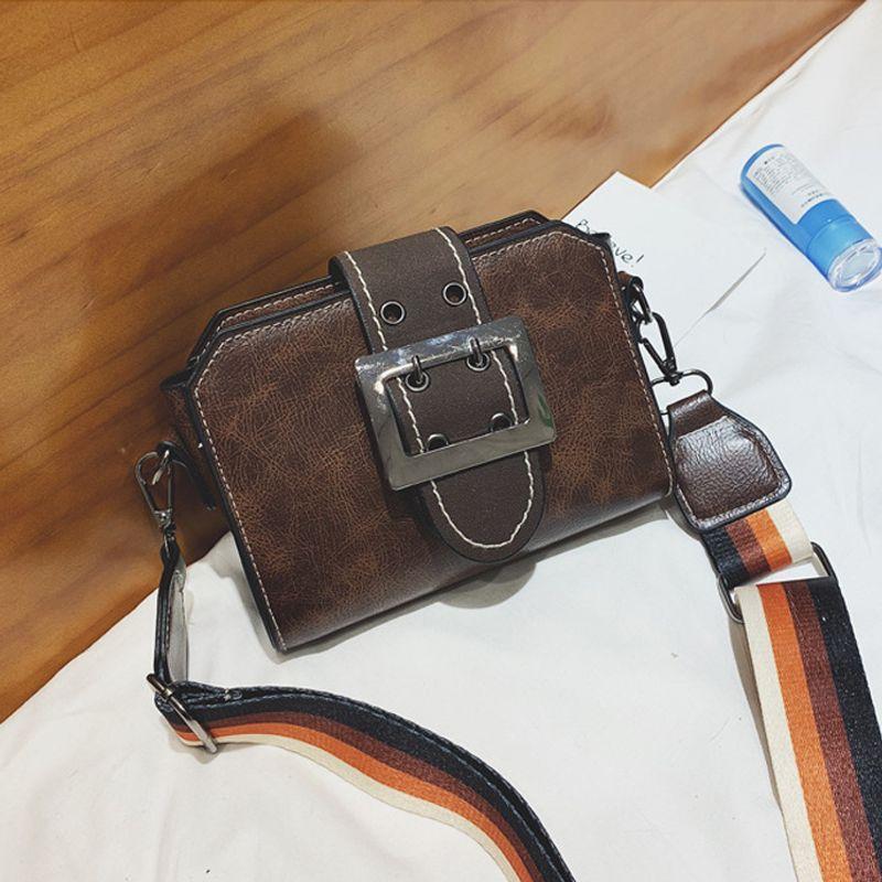 Túi Nữ Dây Đeo To Bản Khóa Vuông Kiểu Dáng Hàn Quốc D159 giá sỉ, giá bán buôn