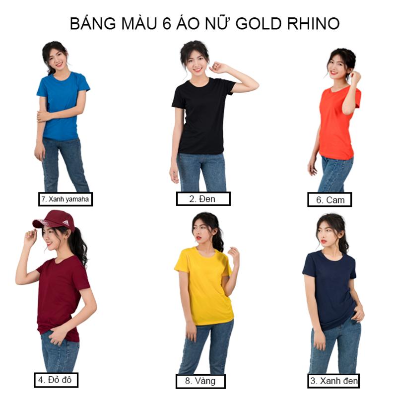 ÁO THUN NỮ TRƠN GOLD RHINO giá sỉ, giá bán buôn