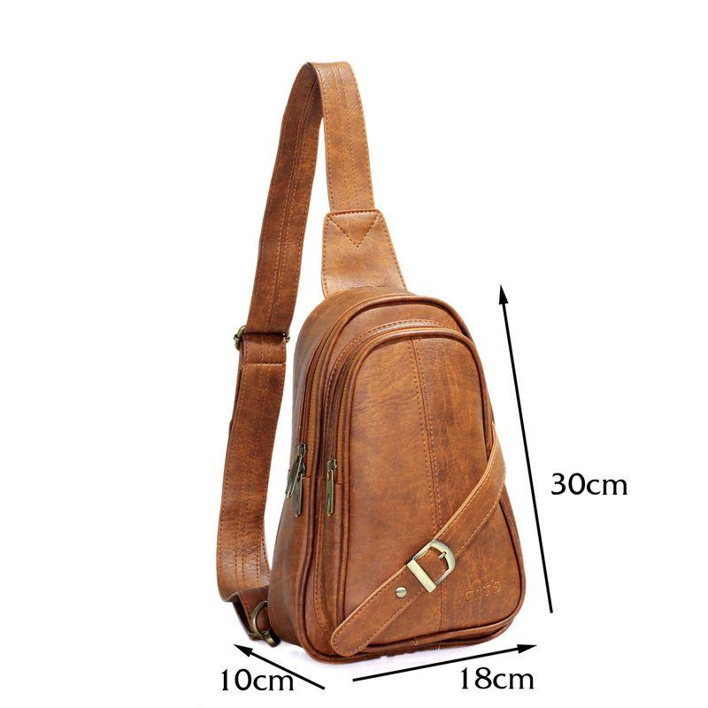 Túi đeo chéo CNT Unisex MQ20 sành điệu Bò Đậm giá sỉ, giá bán buôn