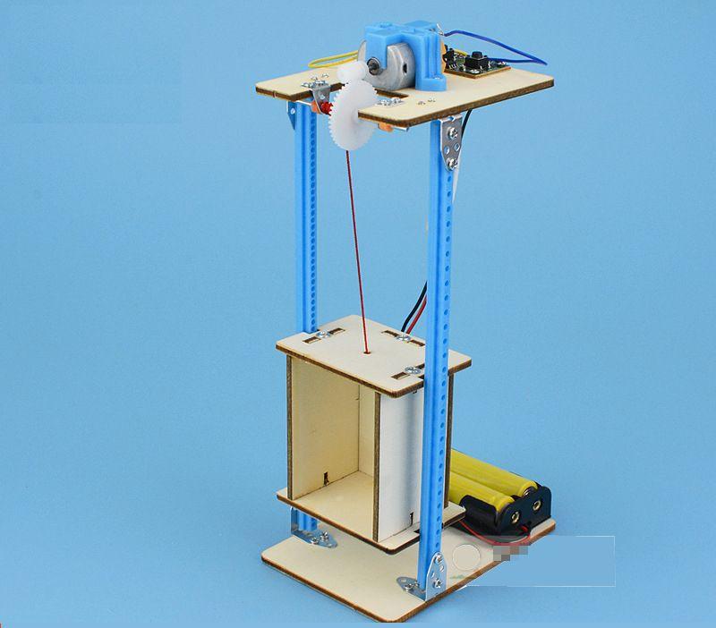 mô hình thang máy - đồ chơi stem giá bán buôn bán sỉ