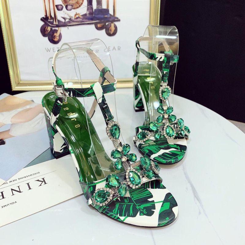 Giày sandal đá màu loang cao cấp giá sỉ, giá bán buôn