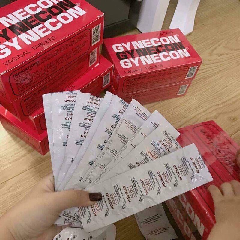 Viên Đặt Phụ Khoa Thái Lan Gynecon - Hàng Chuẩn giá sỉ, giá bán buôn
