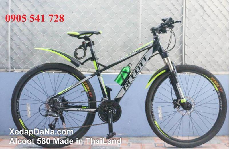 Xe đạp địa hình Alcott 580XC màu xanh chuối giá sỉ, giá bán buôn