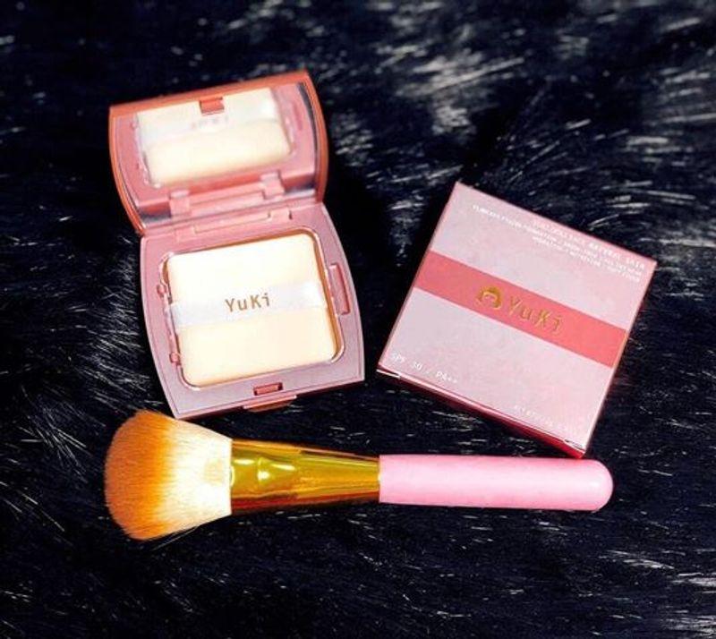 Kết quả hình ảnh cho phấn nén yuki makeup