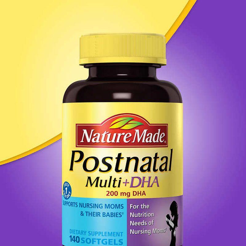 Postnatal 140 viên-Thuốc bổ dành cho phụ nữ sau sinh và cho con bú