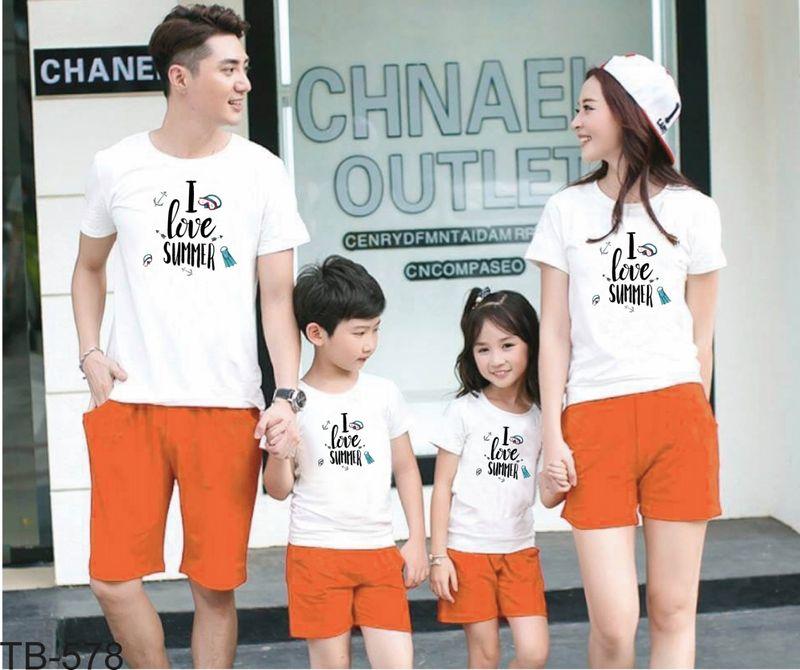 áo thun gia đình new C51 giá sỉ, giá bán buôn