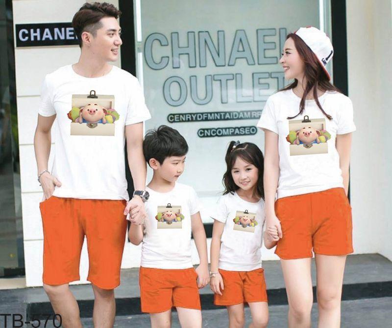 áo thun gia đình new C52 giá sỉ, giá bán buôn