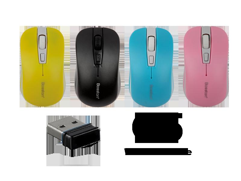 Mouse ko dây BOSSTON Q5 giá sỉ, giá bán buôn