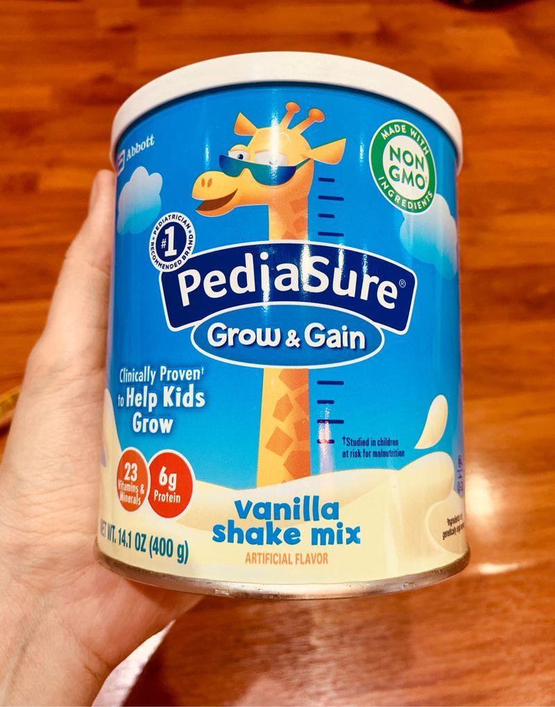 Sữa Pediasure GrowGain dạng bột 400gr Mỹ mẫu mới hàng air date xa giá sỉ, giá bán buôn