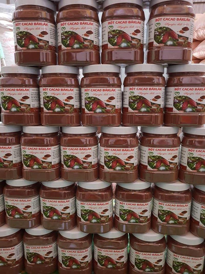 Bột Cacao Daklak Nguyên Chất Giá sỉ 500g