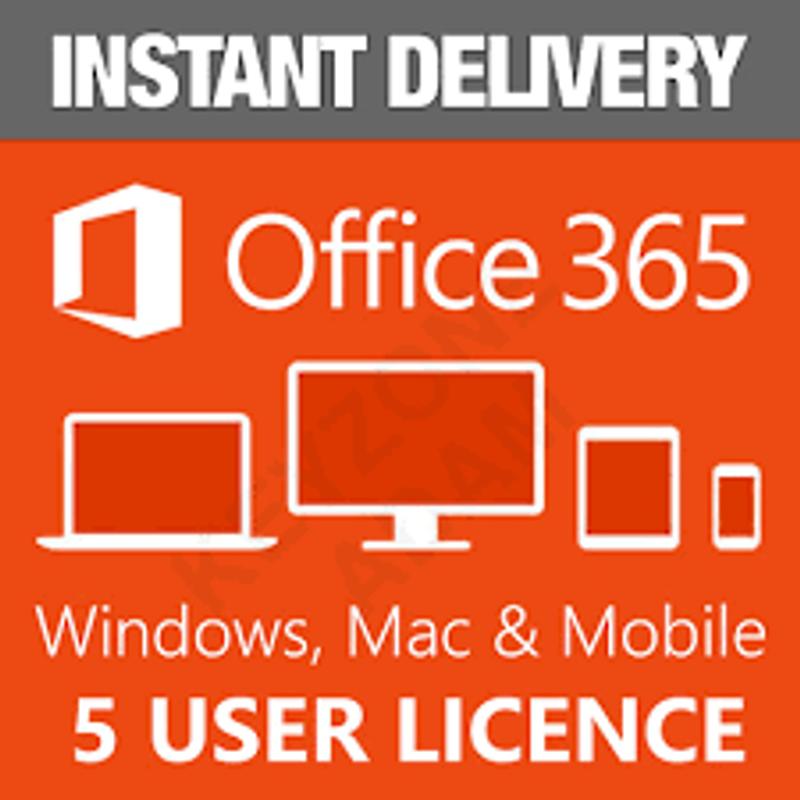 Bộ office 365 sử dụng 1 năm - Cài được trên 5 máy tính giá sỉ, giá bán buôn