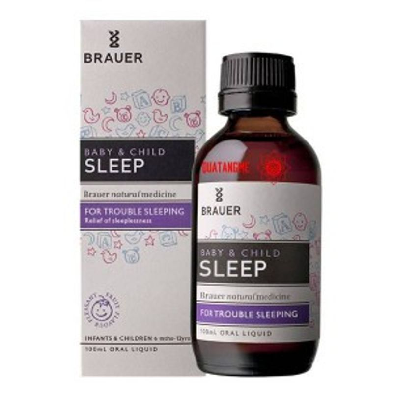 Siro Brauer Baby Child Sleep Của Úc Hỗ Trợ Giấc Ngủ Cho Bé - 100ml giá sỉ, giá bán buôn