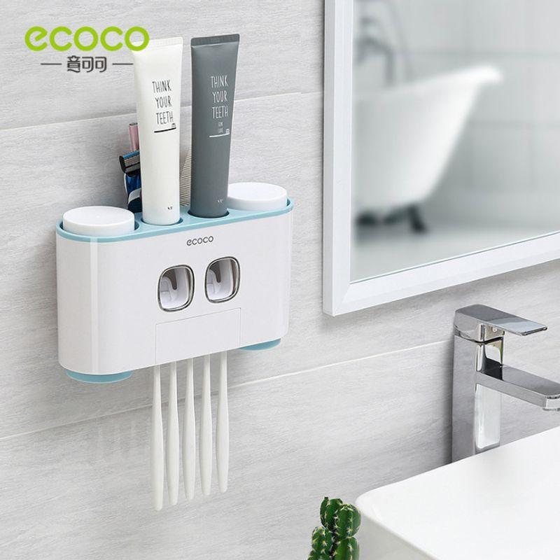 Ecoco Dụng Cụ Nặn Kem Kèm Treo Bàn Chải và Ly Cao Cấp giá sỉ, giá bán buôn