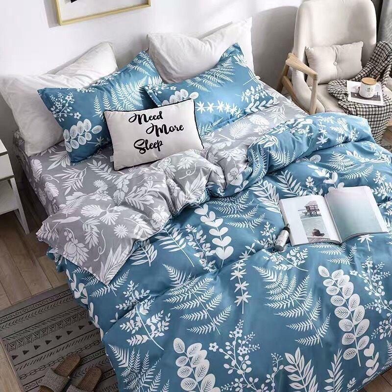 Bộ Chăn Ga Gối Cotton Korea NS207 giá sỉ, giá bán buôn