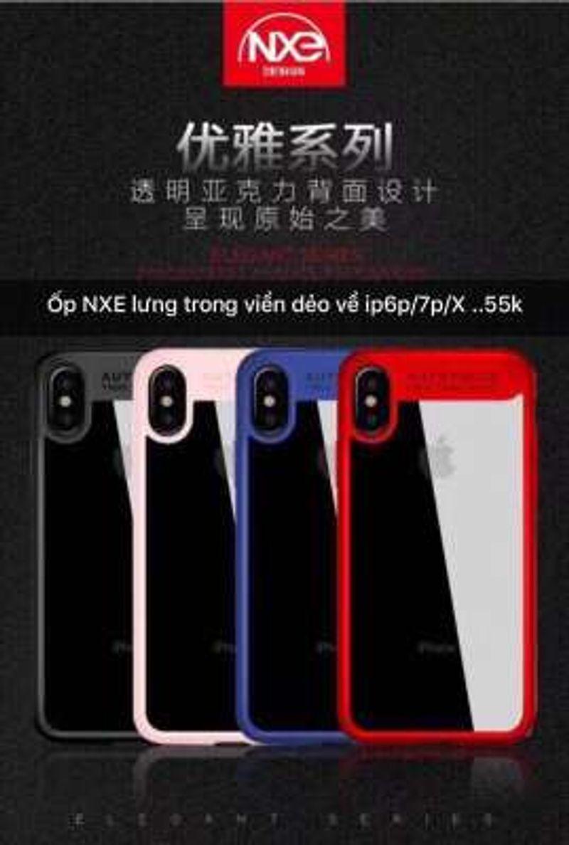 ỐP LƯNG NXE LƯNG TRONG VIỀN DẺO IP6P/7P/X giá sỉ, giá bán buôn