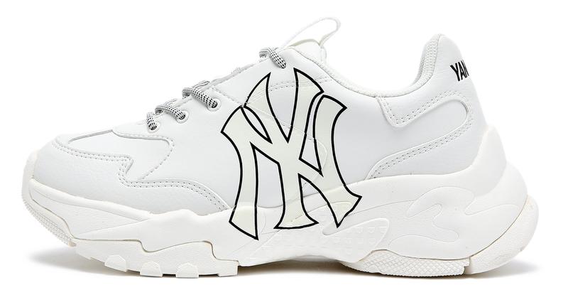 Giày MLB New York Big Ball Chunky trắng giá sỉ, giá bán buôn