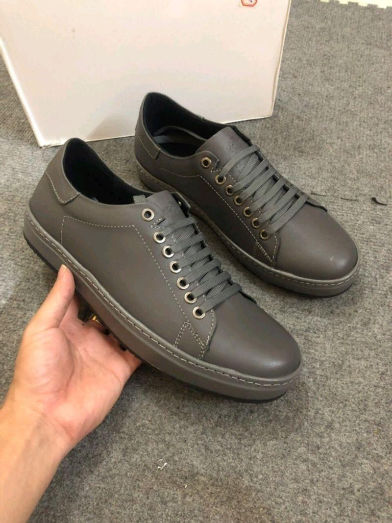 Giày thể thao nam màu ghi giày loại cao cấp giá sỉ, giá bán buôn