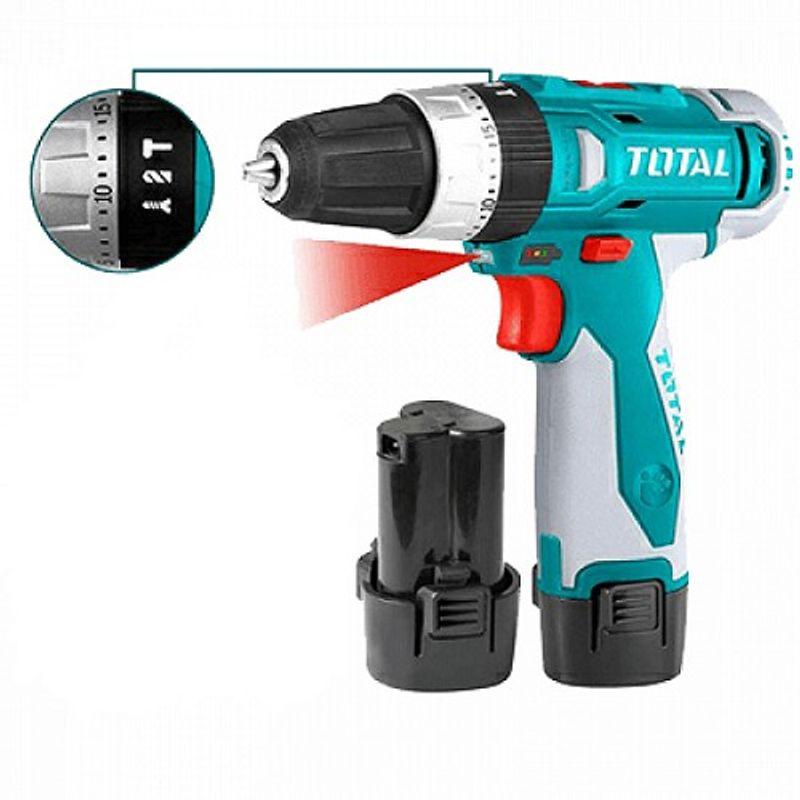 Máy Khoan Búa Dùng Pin Li-on Total TIDLI228120 giá sỉ, giá bán buôn