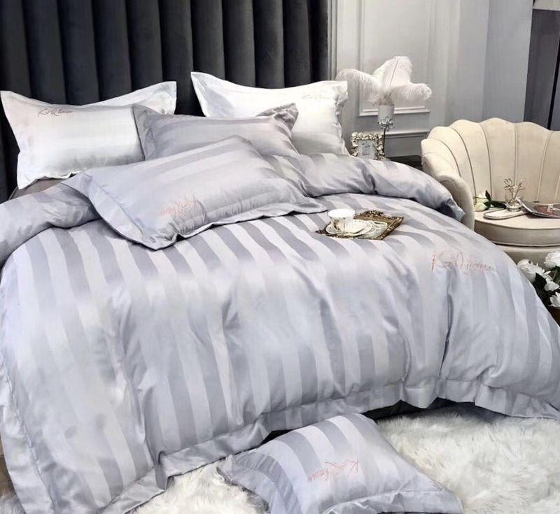 Bộ Cotton lụa 60s cho khách sạn KQ105 giá sỉ, giá bán buôn